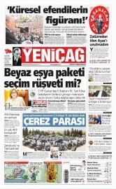 24 May�s 2015 Tarihli Yeni�a� Gazetesi