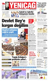24 Haziran 2015 Tarihli Yeni�a� Gazetesi