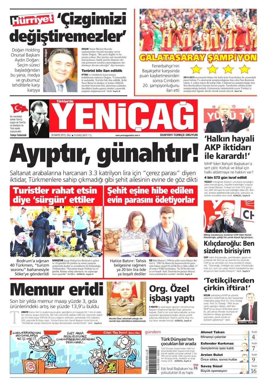 Yeni�a� Gazetesi