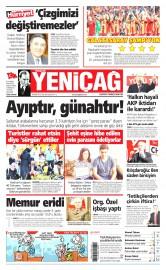 26 May�s 2015 Tarihli Yeni�a� Gazetesi