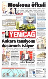26 Kas�m 2015 Tarihli Yeni�a� Gazetesi