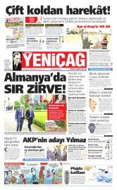 27 Haziran 2015 Tarihli Yeni�a� Gazetesi