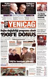 27 Kas�m 2015 Tarihli Yeni�a� Gazetesi