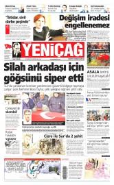 30 Ocak 2016 Tarihli Yeni�a� Gazetesi