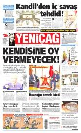 30 Haziran 2015 Tarihli Yeni�a� Gazetesi