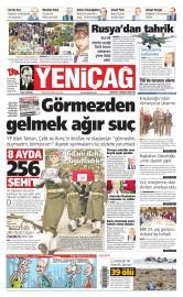 31 Ocak 2016 Tarihli Yeni�a� Gazetesi
