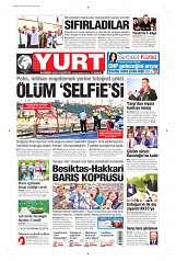 02 Eylül 2014 Tarihli Yurt Gazetesi