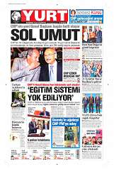 05 Eylül 2014 Tarihli Yurt Gazetesi
