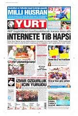 10 Eylül 2014 Tarihli Yurt Gazetesi