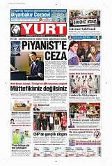 14 Eylül 2014 Tarihli Yurt Gazetesi