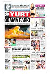 17 Ağustos 2014 Tarihli Yurt Gazetesi