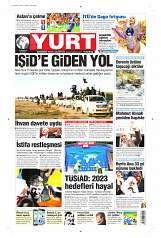 17 Eylül 2014 Tarihli Yurt Gazetesi