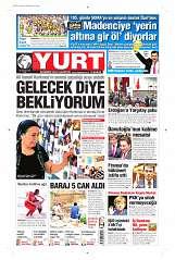 26 Ağustos 2014 Tarihli Yurt Gazetesi