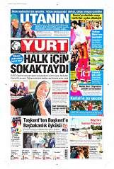27 Ağustos 2014 Tarihli Yurt Gazetesi