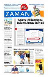 01 Eylül 2014 Tarihli Zaman Gazetesi