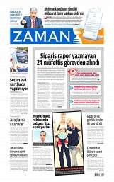 02 Ağustos 2014 Tarihli Zaman Gazetesi
