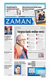 02 Eylül 2014 Tarihli Zaman Gazetesi