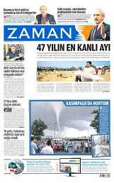 03 Ağustos 2014 Tarihli Zaman Gazetesi