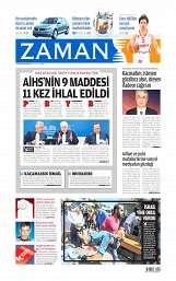 04 Ağustos 2014 Tarihli Zaman Gazetesi