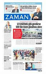05 Ağustos 2014 Tarihli Zaman Gazetesi