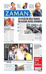 06 Ağustos 2014 Tarihli Zaman Gazetesi