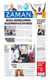 07 Ağustos 2014 Tarihli Zaman Gazetesi