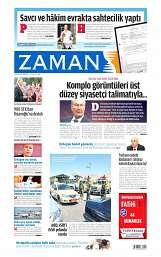 09 Ağustos 2014 Tarihli Zaman Gazetesi