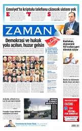 10 Ağustos 2014 Tarihli Zaman Gazetesi