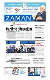 12 Ağustos 2014 Tarihli Zaman Gazetesi