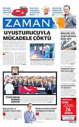 16 Ağustos 2014 Tarihli Zaman Gazetesi