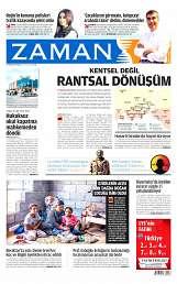 17 Ağustos 2014 Tarihli Zaman Gazetesi
