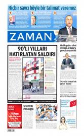 19 May�s 2015 Tarihli Zaman Gazetesi