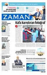 19 Ağustos 2014 Tarihli Zaman Gazetesi
