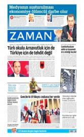 20 May�s 2015 Tarihli Zaman Gazetesi