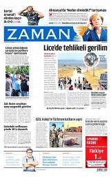 20 Ağustos 2014 Tarihli Zaman Gazetesi