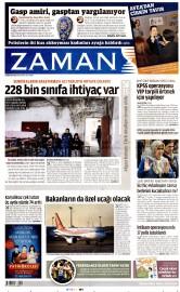 21 Nisan 2015 Tarihli Zaman Gazetesi