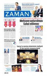 21 May�s 2015 Tarihli Zaman Gazetesi