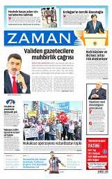 22 Ağustos 2014 Tarihli Zaman Gazetesi