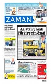 23 Nisan 2015 Tarihli Zaman Gazetesi