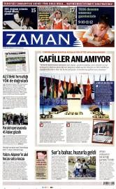 23 Nisan 2016 Tarihli Zaman Gazetesi