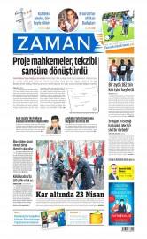 24 Nisan 2015 Tarihli Zaman Gazetesi