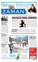 24 Ağustos 2014 Tarihli Zaman Gazetesi