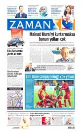 25 May�s 2015 Tarihli Zaman Gazetesi