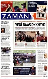 26 Nisan 2016 Tarihli Zaman Gazetesi