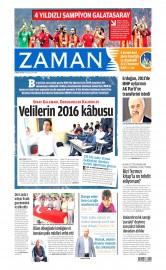 26 May�s 2015 Tarihli Zaman Gazetesi