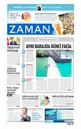 26 Ağustos 2014 Tarihli Zaman Gazetesi