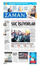 27 Nisan 2015 Tarihli Zaman Gazetesi