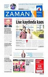 27 Ağustos 2014 Tarihli Zaman Gazetesi