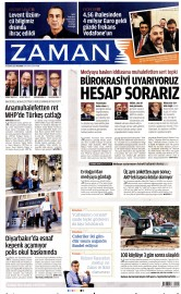 27 A�ustos 2015 Tarihli Zaman Gazetesi