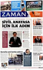 28 Nisan 2016 Tarihli Zaman Gazetesi